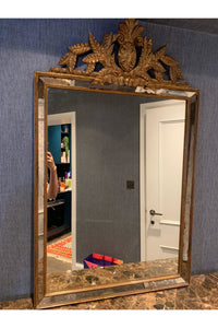 Mirror With Gilded Frame