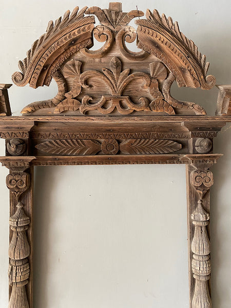 Neo-Classical Antique Pine Frame