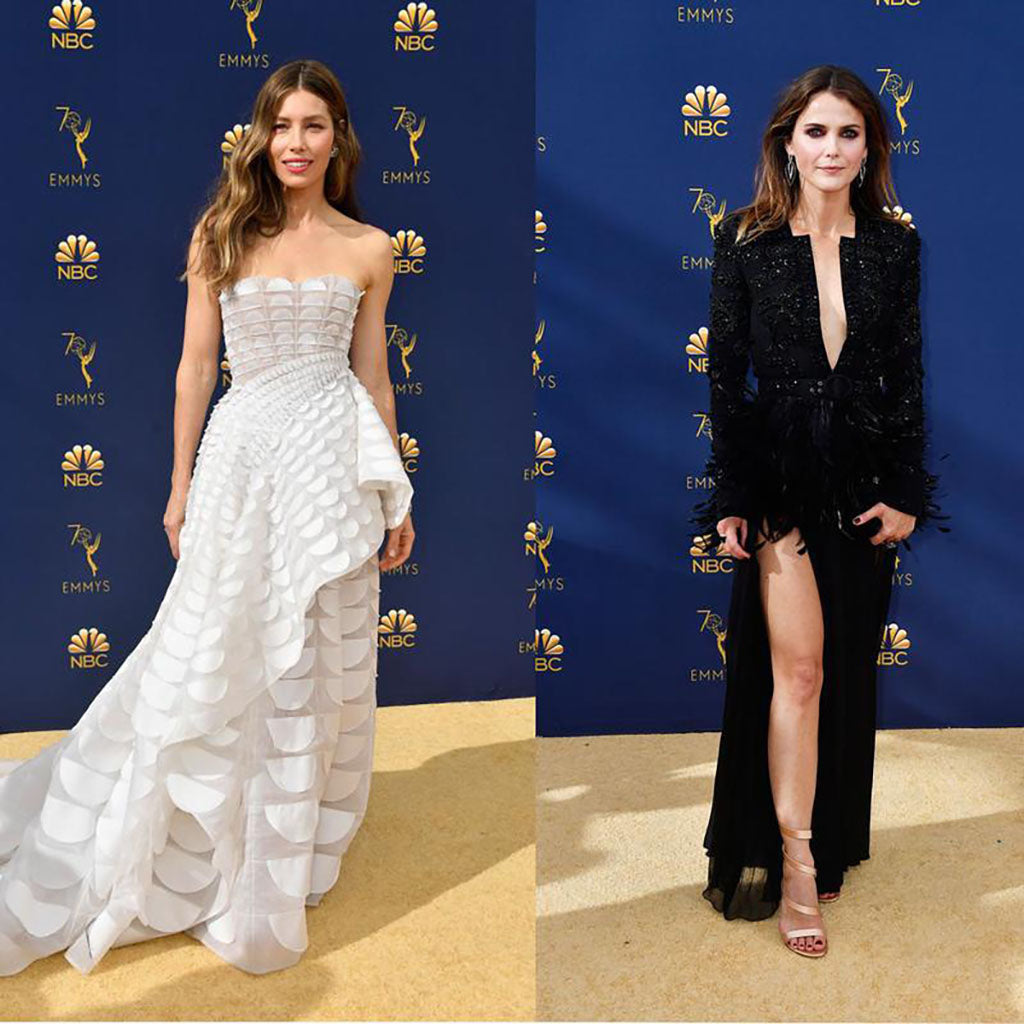 Emmys Best Dressed of the Red Carpet | Jessica Biel | Keri Russell|2018