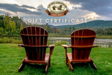 The Best Adirondack Chair Company Gift Card