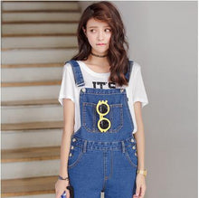 Load image into Gallery viewer, women casual jeans jumpsuit