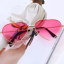 Load image into Gallery viewer, dropshipping women ladies heart shape sunglasses - YR.SOOQ