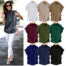 Load image into Gallery viewer, dropshipping women batting sleeve T shirt - YR.SOOQ