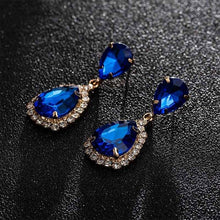 Load image into Gallery viewer, dropshipping women ladies Crystal rhinestone earring - YR.SOOQ