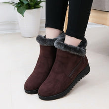 Load image into Gallery viewer, women ankle zipper boot