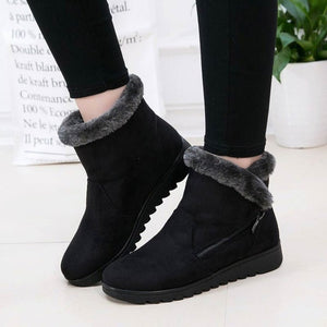 women ankle zipper boot