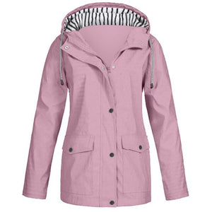 women waterproof and windproof outwear