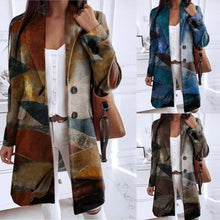 Load image into Gallery viewer, women printed winter jacket