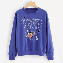 Load image into Gallery viewer, women ladies casual printing pullover