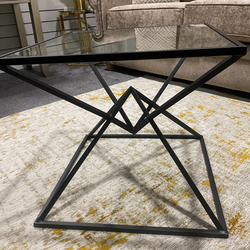 Gin Shu Metal Side Table - Black