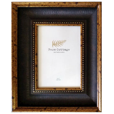 BLACK AND ANTIQUE GOLD FRAME 5X7