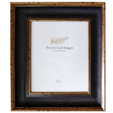 BLACK AND ANTIQUE GOLD FRAME 8X10