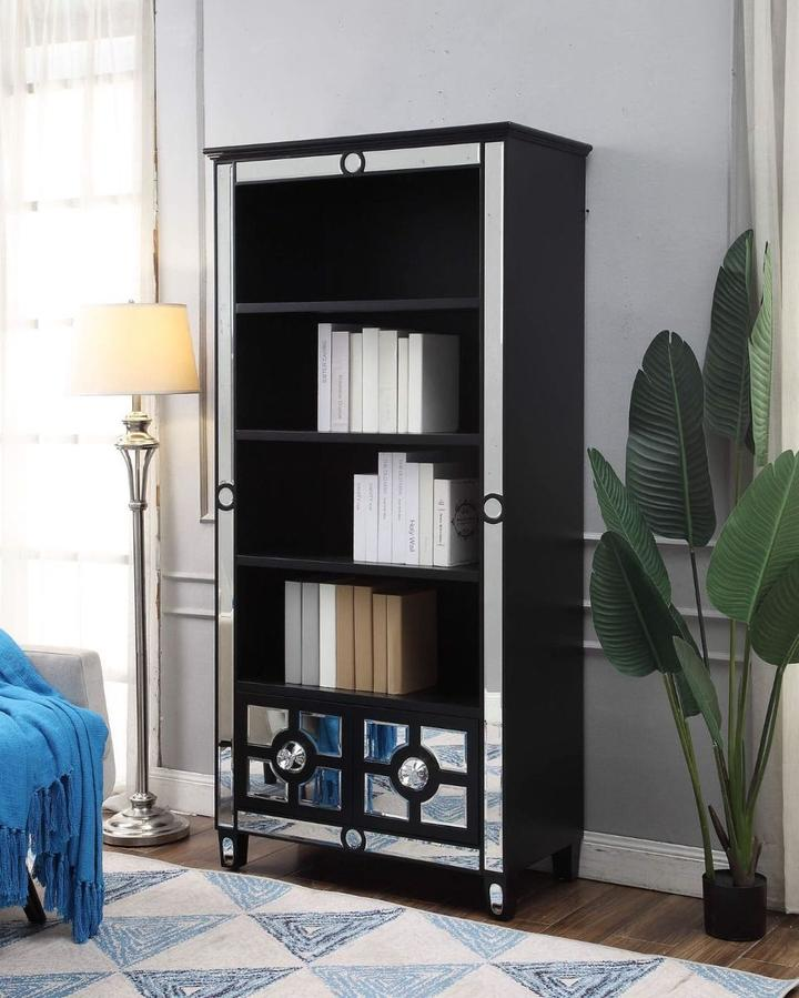 Henley Black Bookcase