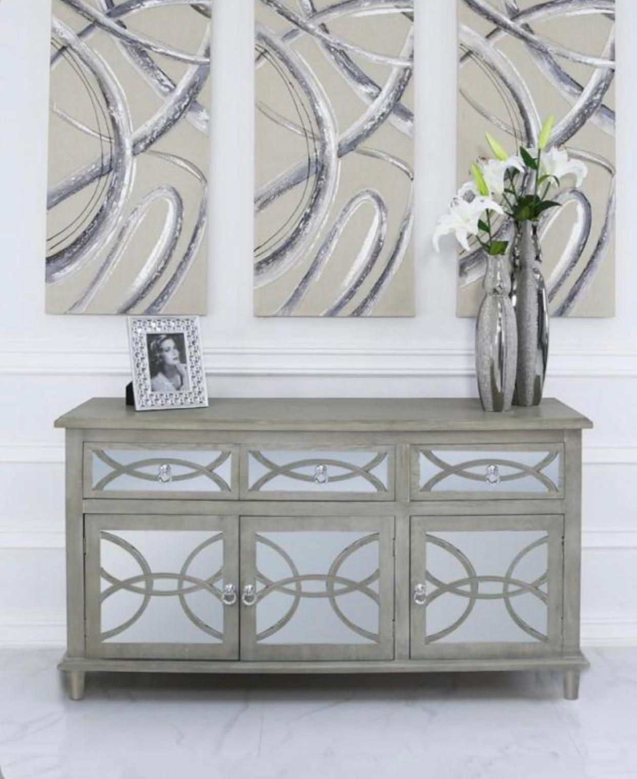 Galleria 3 Door Sideboard