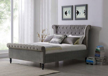 Ariel Silver - King Bed