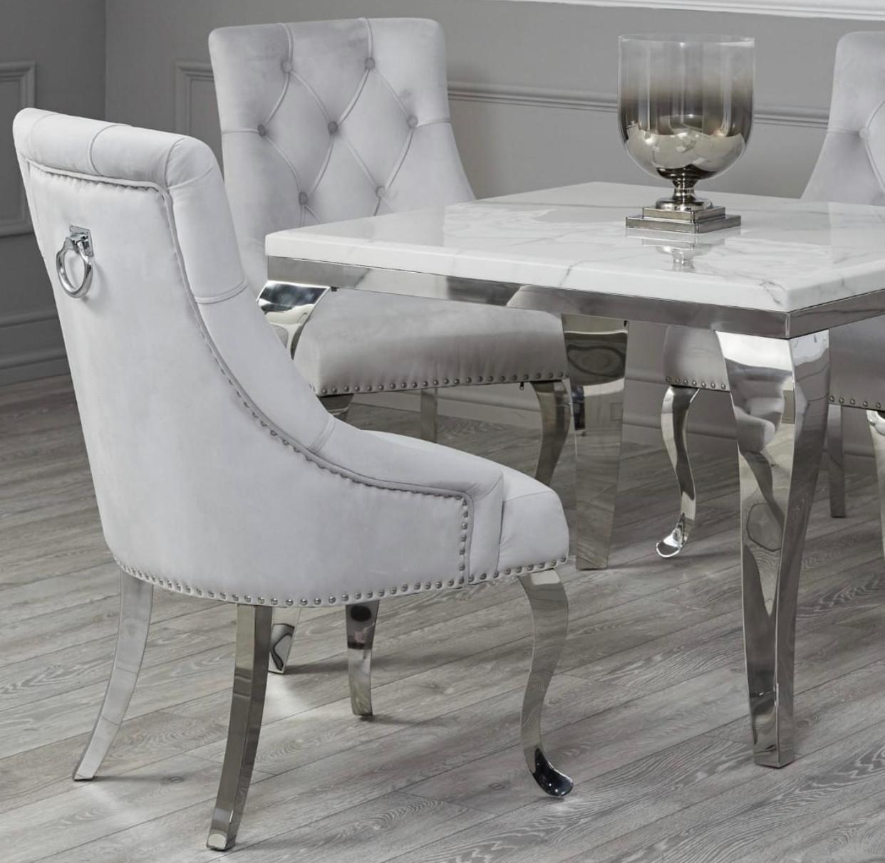Louis Square Table Set