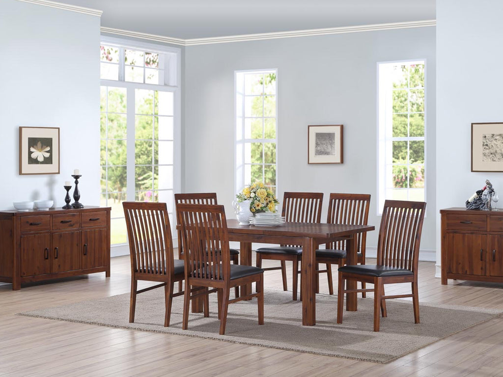 Andorra 165cm Extending Dining Set