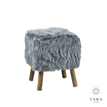VIDAL SQUARE STOOL GREY