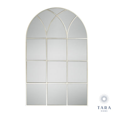PALLADIAN WINDOW MIRROR SOFT CHAMPAGNE 112CM