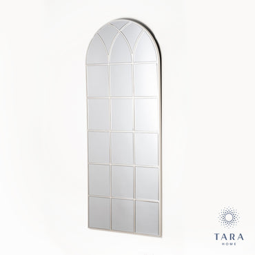 PALLADIAN WINDOW MIRROR SOFT CHAMPAGNE 173CM