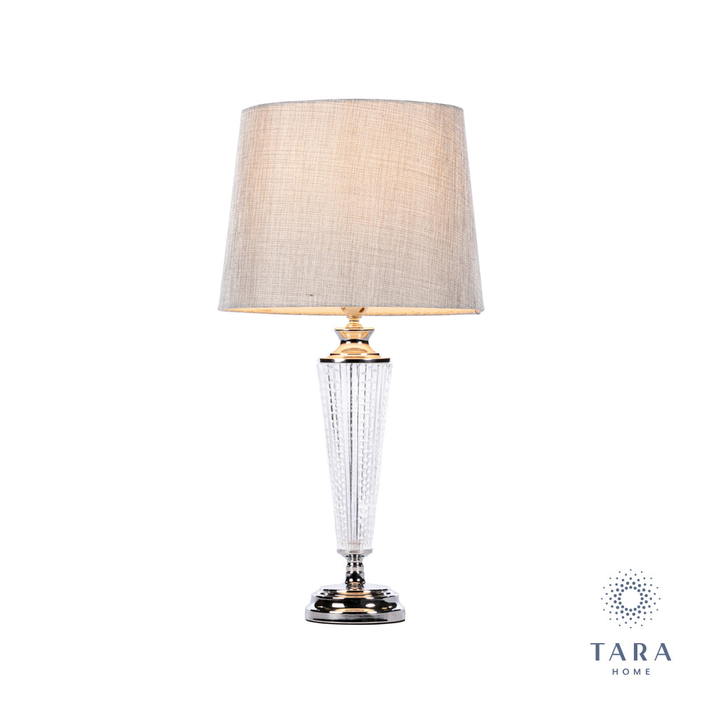 LANA BULB TABLE LAMP CHARCOAL 63CM