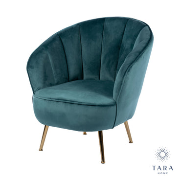 KENDALL ACCENT CHAIR TEAL