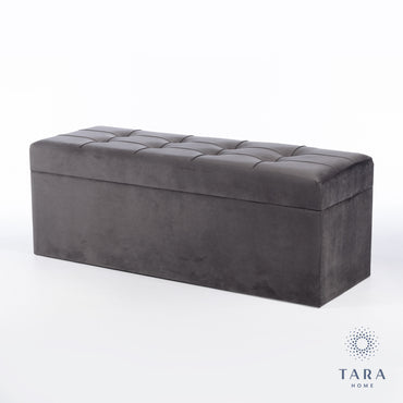 VIENNA TRUNK CHARCOAL GREY 120CM