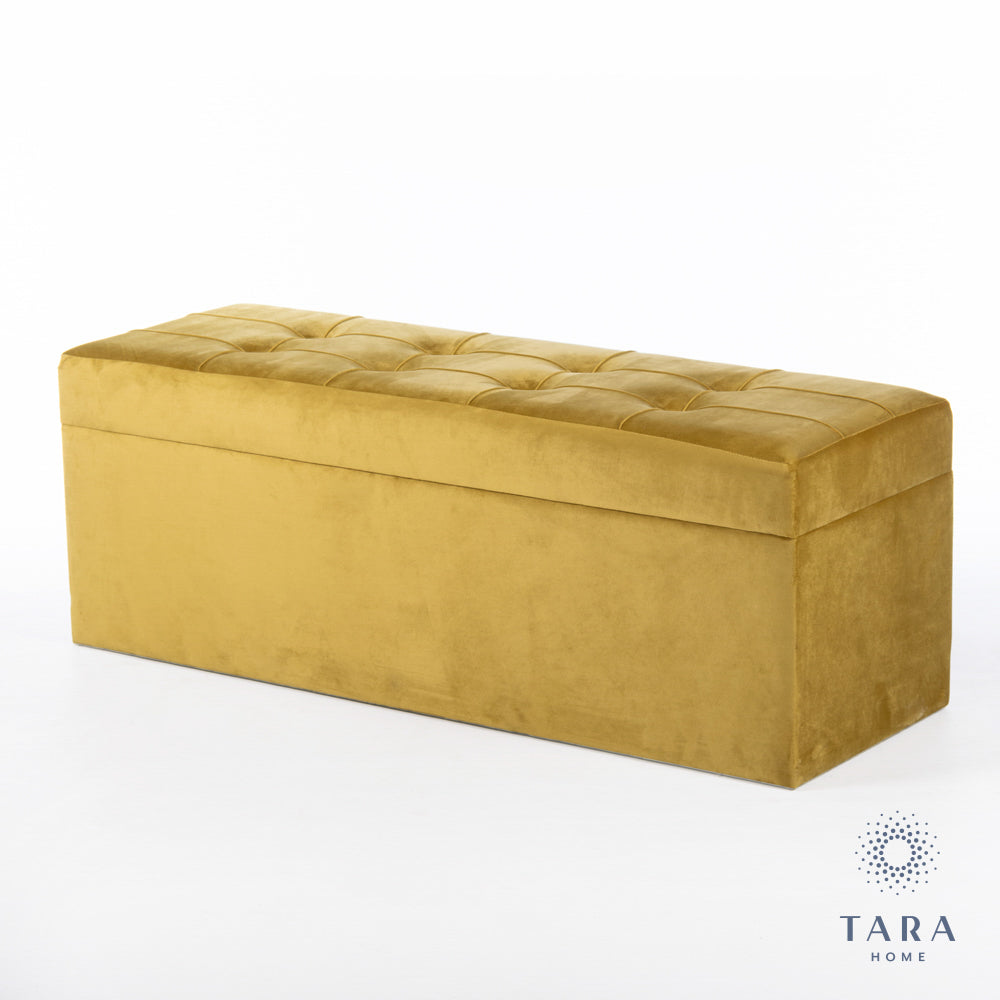 VIENNA TRUNK MUSTARD YELLOW 120CM