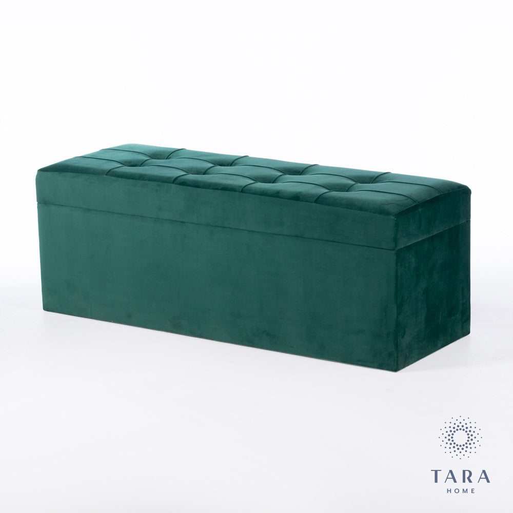 VIENNA TRUNK EMERALD GREEN 120CM