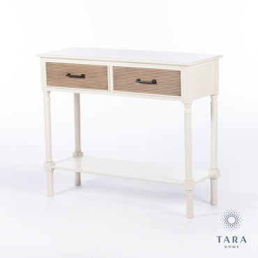 SAHARA 2 DRAWER CONSOLE TABLE