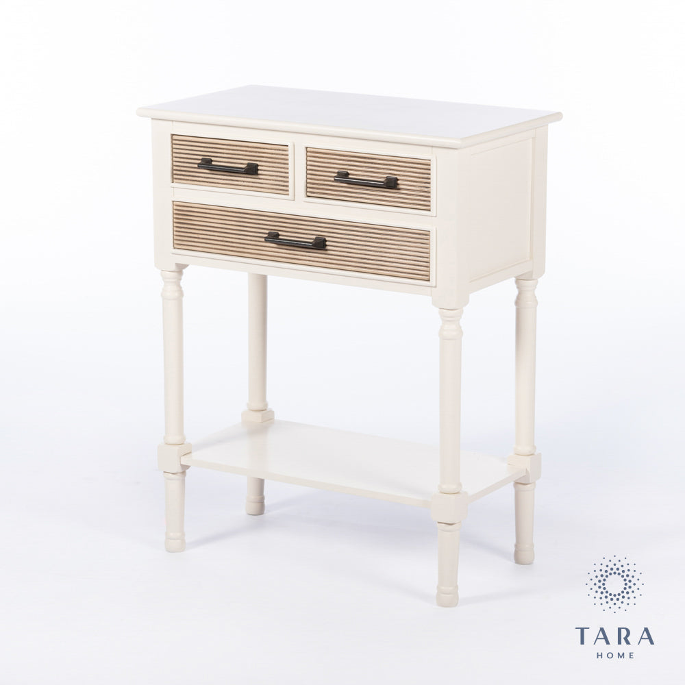SAHARA 2 + 1 DRAWER CONSOLE TABLE