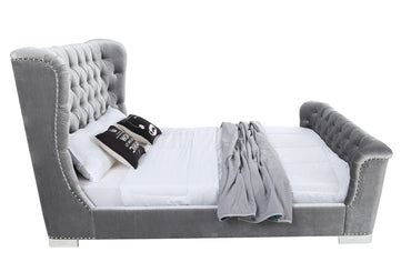 Belvedere 5' Bed - Pewter
