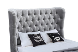 Belvedere 6' Bed - Pewter SOLD OUT