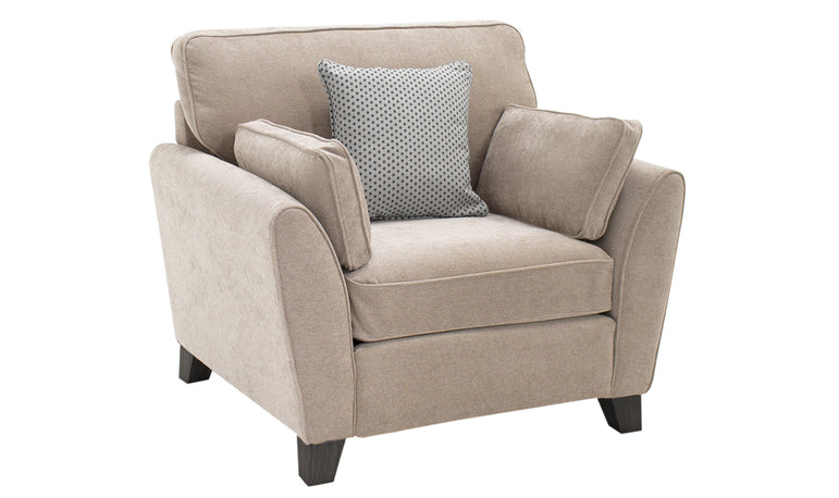 Cantrell 1 Seater – Almond