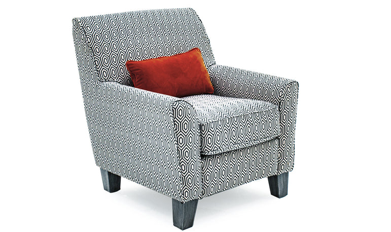Cantrell Accent Chair - Graphite