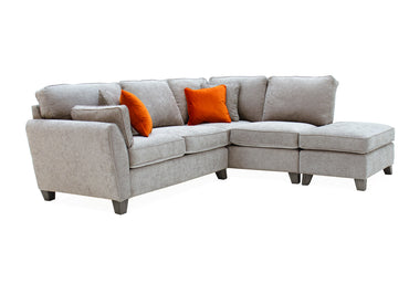 Cantrell Corner Group - Silver (RHF) (4 Scatter Cushions)