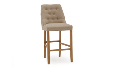 Eldridge Beige Bar Stool