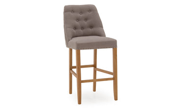 Eldridge Grey Bar Stool