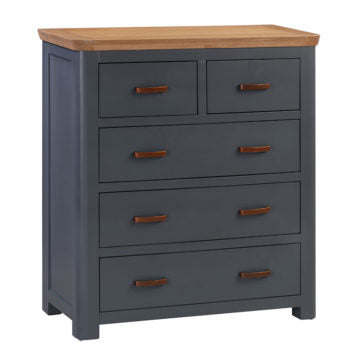 Treviso Midnight Blue Chest of Drawers
