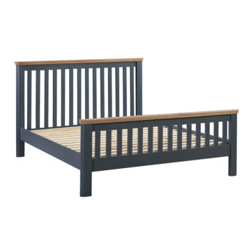 Treviso Midnight Blue Bed