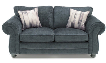 Hollins 2 Seater Fixed - Charcoal