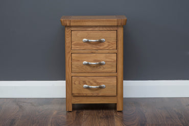 Manhattan - Locker - 3 Drawer - Oak Only - LARGE