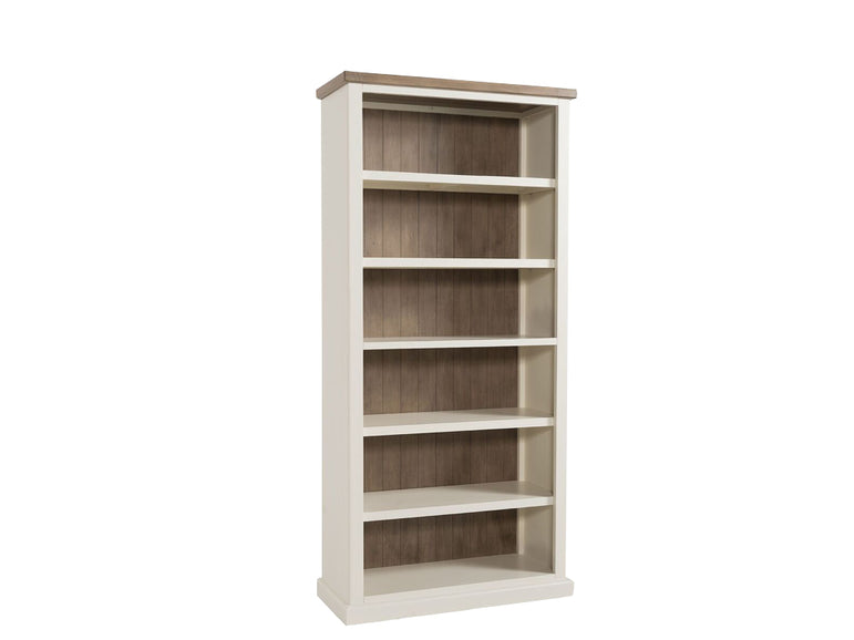 Santorini Stone Painted Bookcase