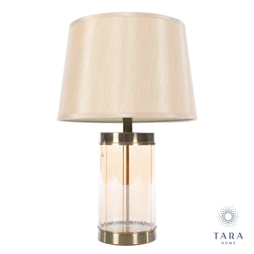 Carlee table lamp bronze 66cm