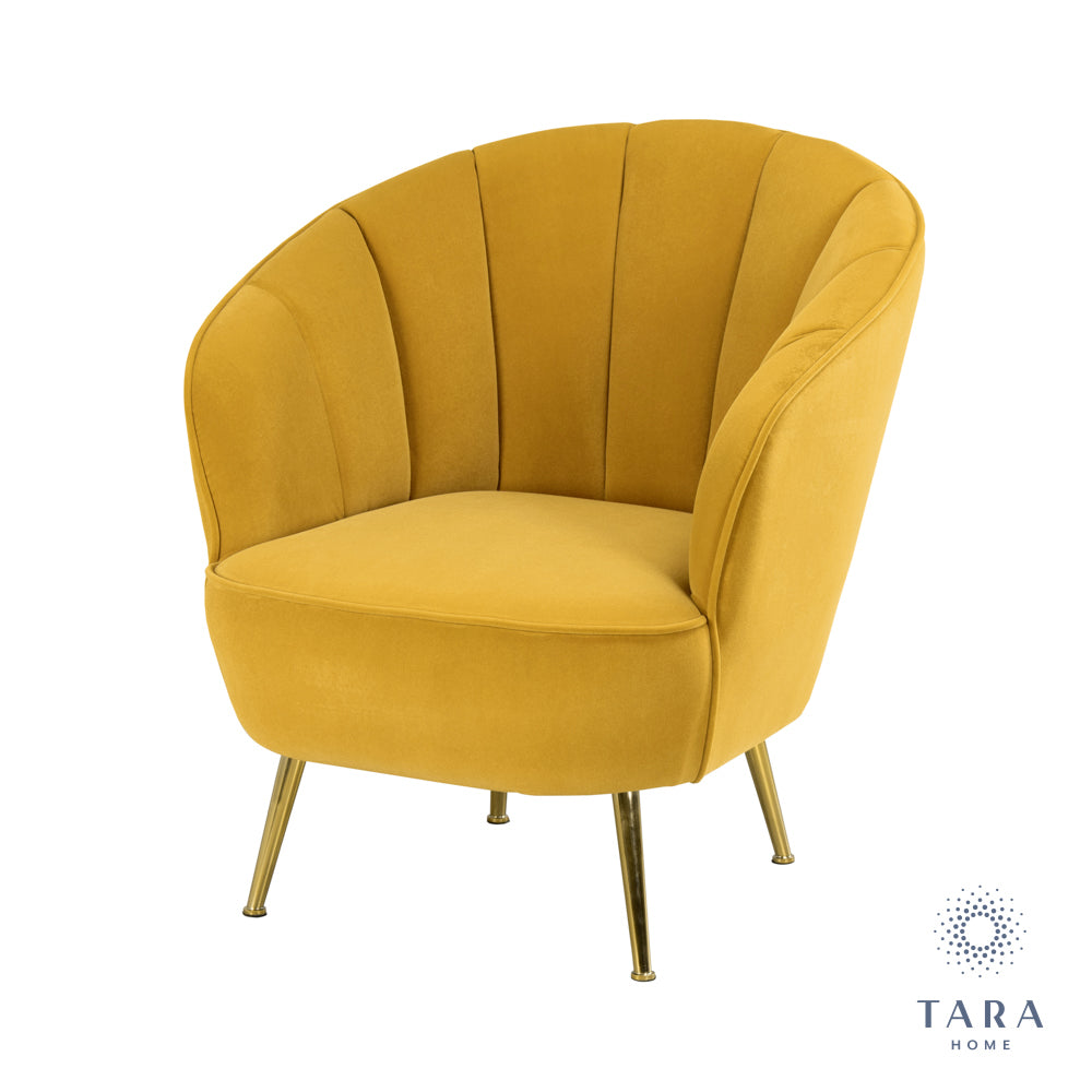 KENDALL ACCENT CHAIR MUSTARD