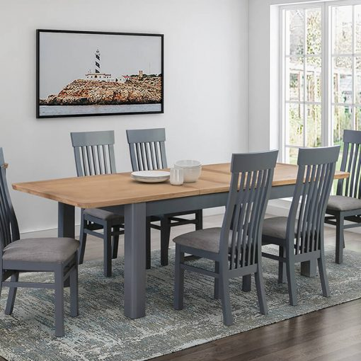 Treviso Midnight Blue Dining Set