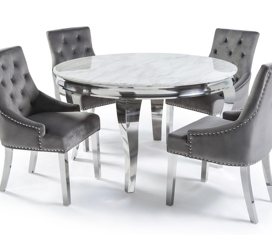 Louis Circular Table Set