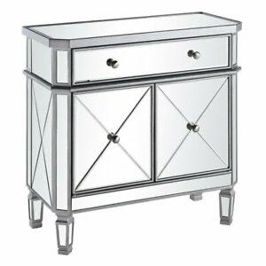 Tiffany Silver 2 Door Sideboard