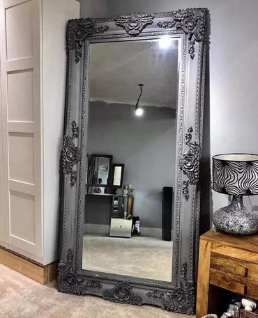 French Louis Mirror Grey