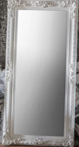 French Louis Mirror White